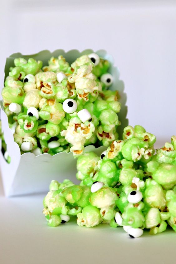 Monsters Inc Themed Birthday Party - Snacks