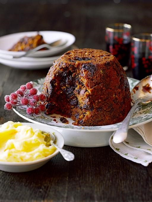 Christmas in July pudding